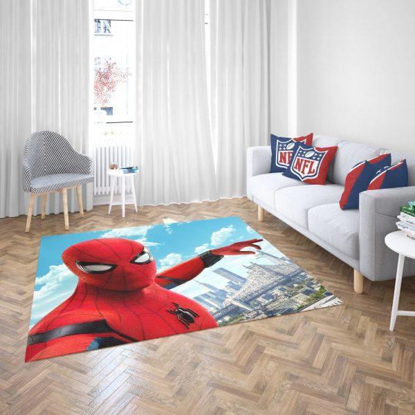 Spider Man Home Coming Bedroom Living Room Floor Carpet Rug 3