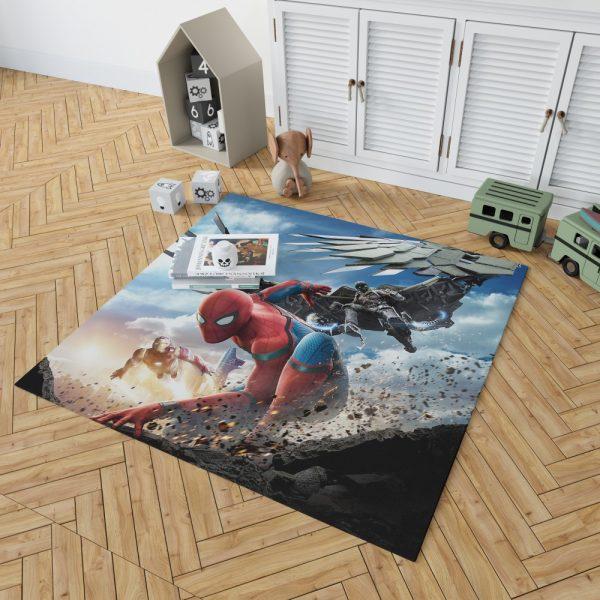 Spider Man Home Coming  Movie Themed Bedroom Living Room Floor Carpet Rug 2