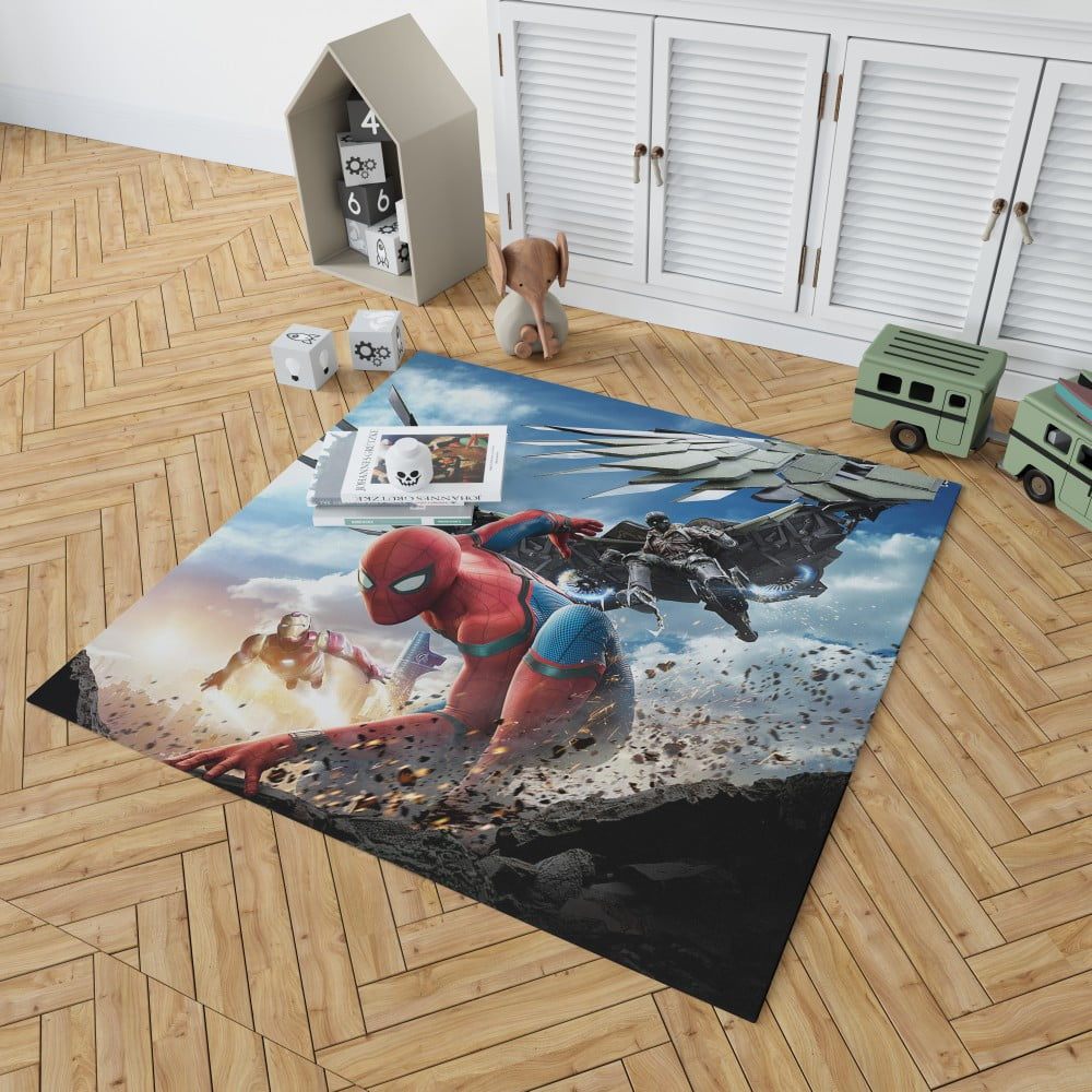 Spider Man Home Coming Movie Themed Bedroom Living Room