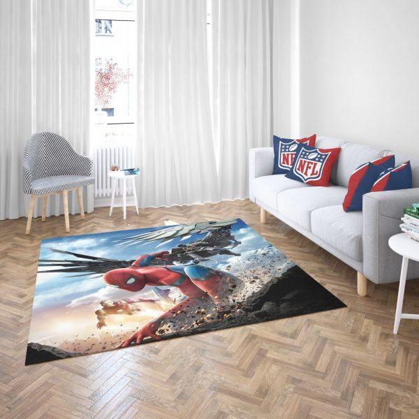 Spider Man Home Coming  Movie Themed Bedroom Living Room Floor Carpet Rug 3
