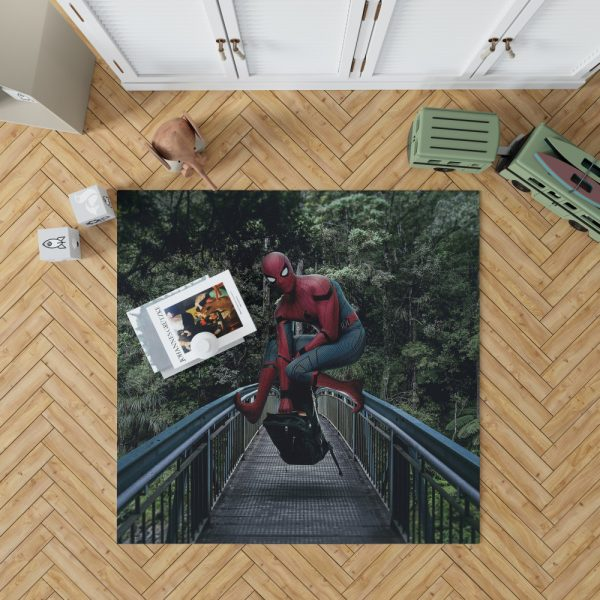 Spider-Man Homecoming Movie Bedroom Living Room Floor Carpet Rug 1