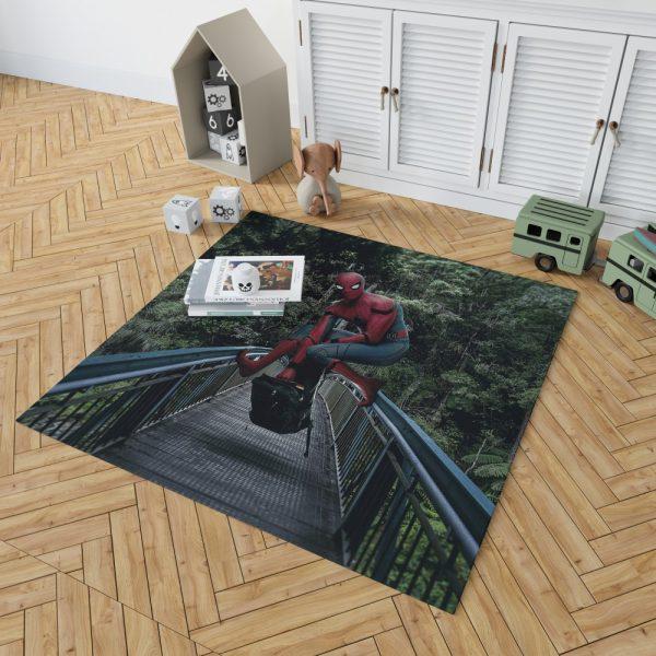 Spider-Man Homecoming Movie Bedroom Living Room Floor Carpet Rug 2