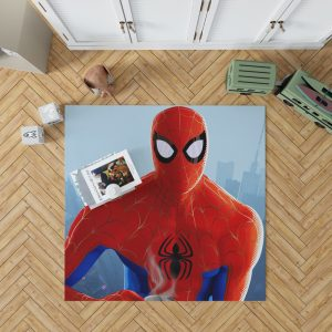 Spider-Man Into The Spider-Verse Movie Bedroom Living Room Floor Carpet Rug 1