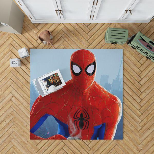 Spider-Man Into The Spider-Verse Movie Bedroom Living Room Floor Carpet Rug 1