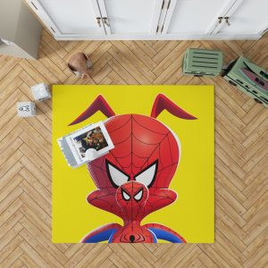 Spider-Man Into The Spider-Verse Movie Kids Bedroom Living Room Floor Carpet Rug 1