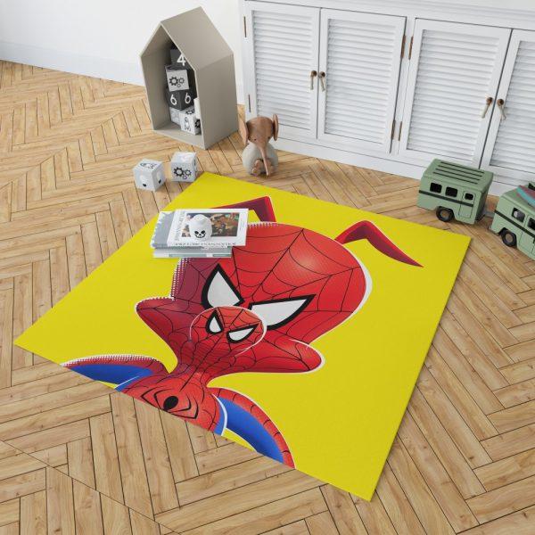 Spider-Man Into The Spider-Verse Movie Kids Bedroom Living Room Floor Carpet Rug 2