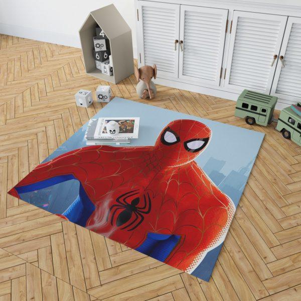 Spider-Man Into The Spider-Verse Movie MCU Bedroom Living Room Floor Carpet Rug 2