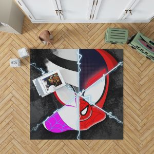 Spider-Man Into The Spider-Verse Movie Marvel Cinematic Universe Bedroom Living Room Floor Carpet Rug 1