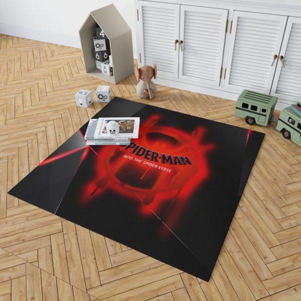Spider-Man Into The Spider-Verse Movie Marvel MCU Universe Bedroom Living Room Floor Carpet Rug 2