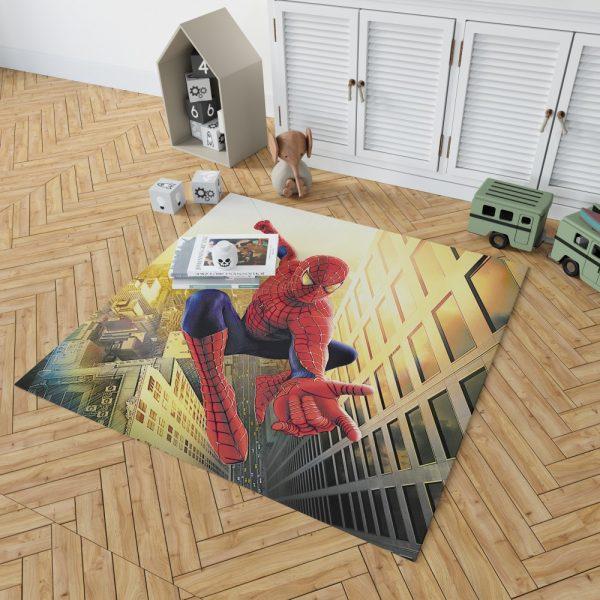 Spider Man Marvel Comics Avengers Bedroom Living Room Floor Carpet Rug 2