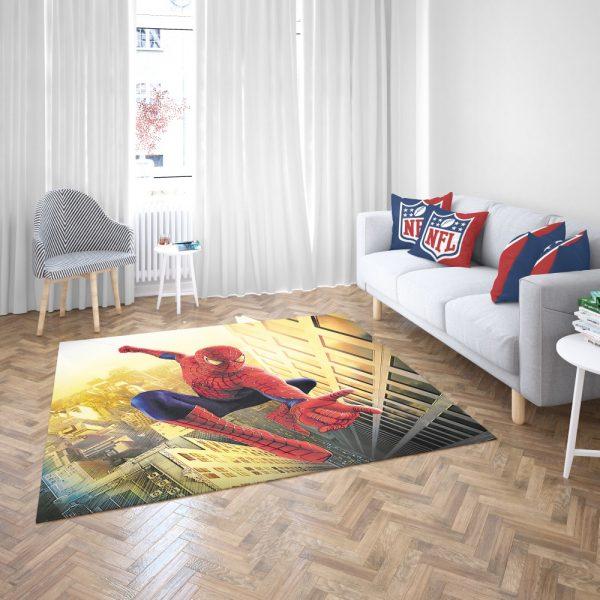 Spider Man Marvel Comics Avengers Bedroom Living Room Floor Carpet Rug 3