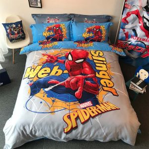 Spiderman bedding set Queen size