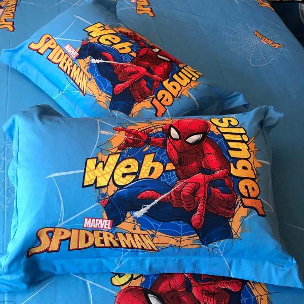 Spiderman bedding set Queen size 4