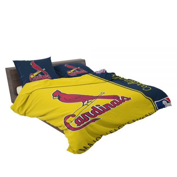 St. Louis Cardinals MLB Baseball National League Bedding Set 3