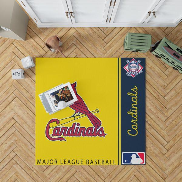 St. Louis Cardinals MLB Baseball National League Floor Carpet Rug Mat 1