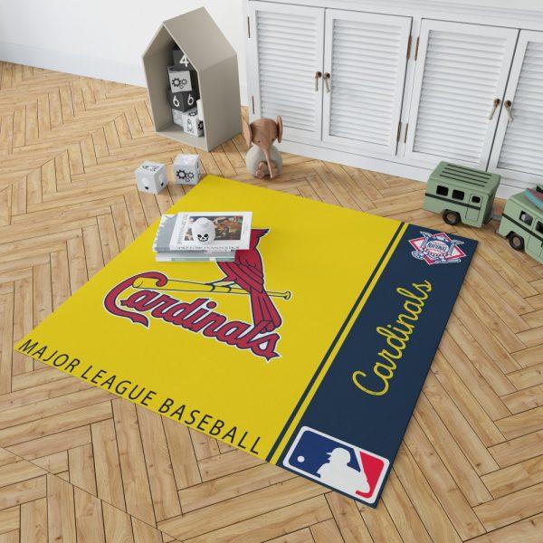 St. Louis Cardinals MLB Baseball National League Floor Carpet Rug Mat 2