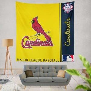St. Louis Cardinals MLB Baseball National League Wall Hanging Tapestry