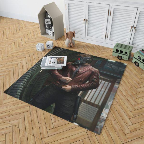 Star Lord Peter Quill Guardians of the Galaxy Movie Chris Pratt Bedroom Living Room Floor Carpet Rug 2