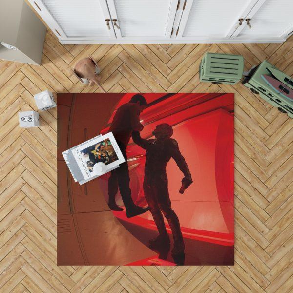 Star Trek Beyond Movie Chris Pine Idris Elba Bedroom Living Room Floor Carpet Rug 1
