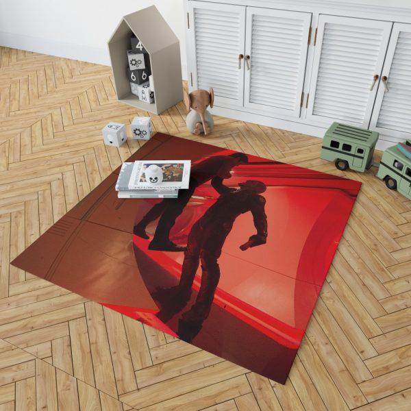 Star Trek Beyond Movie Chris Pine Idris Elba Bedroom Living Room Floor Carpet Rug 2