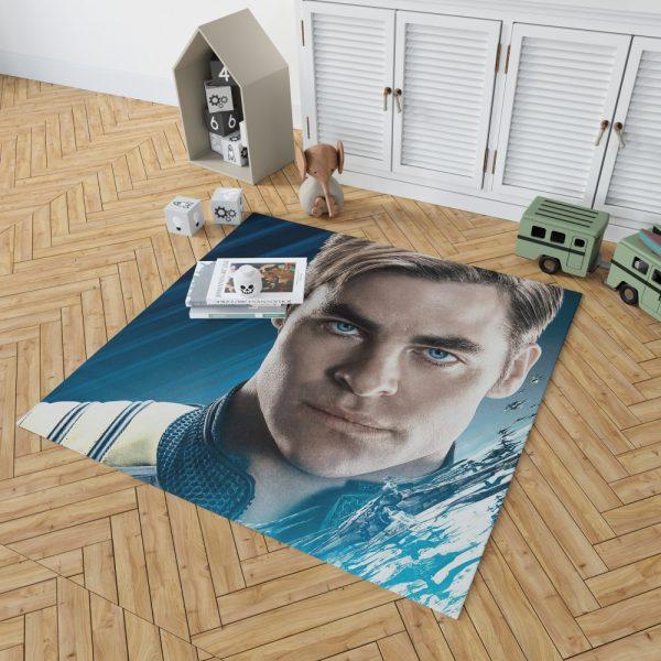 Star Trek Beyond Movie Chris Pine James T Kirk Bedroom Living Room Floor Carpet Rug 2