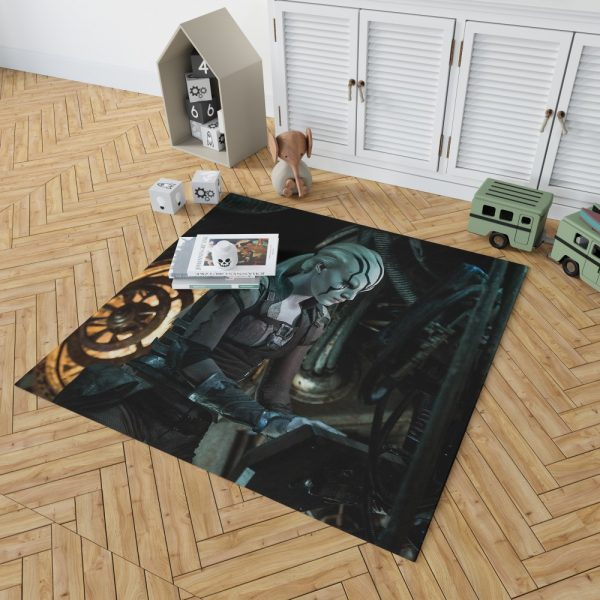 Star Trek Beyond Movie JaylahSofia Boutella Star Trek Beyond Bedroom Living Room Floor Carpet Rug 2