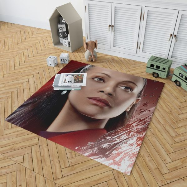 Star Trek Beyond Movie Nyota Uhura Star Trek Beyond Zoe Saldana Bedroom Living Room Floor Carpet Rug 2
