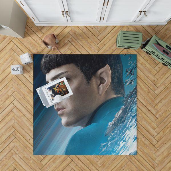 Star Trek Beyond Movie Spock Zachary Quinto Bedroom Living Room Floor Carpet Rug 1