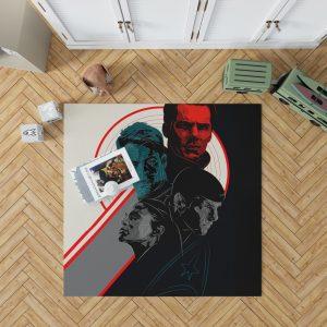 Star Trek Into Darkness Movie Bedroom Living Room Floor Carpet Rug 1