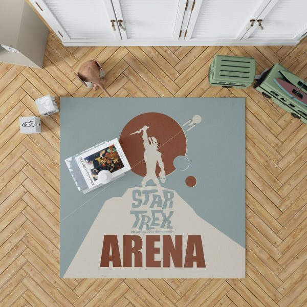 Star Trek The Original Series Arena Episode TV Show Bedroom Living Room Floor Carpet Rug 1