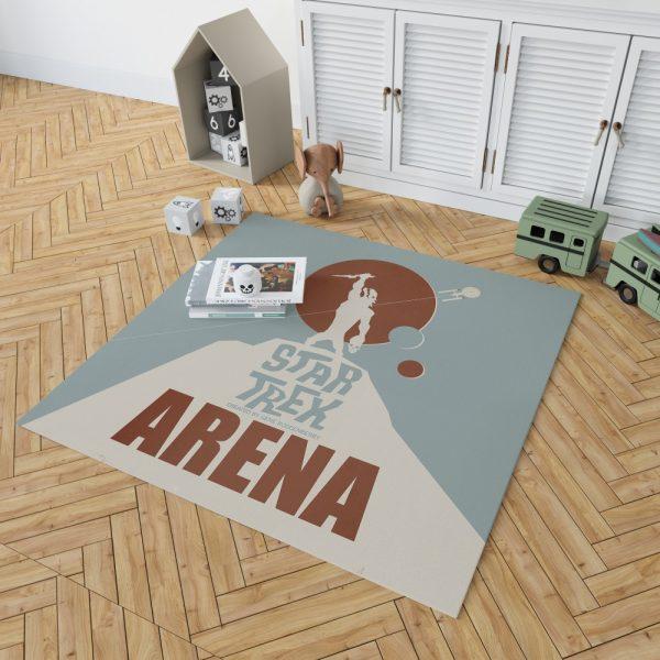 Star Trek The Original Series Arena Episode TV Show Bedroom Living Room Floor Carpet Rug 2