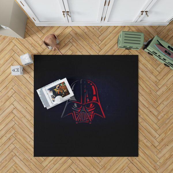 Star Wars Darth Vader Sci-Fi Movie Bedroom Living Room Floor Carpet Rug 1