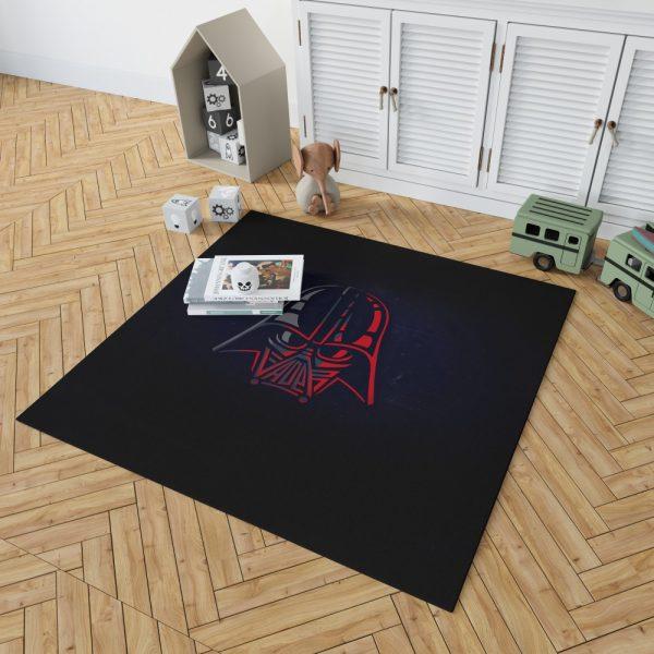Star Wars Darth Vader Sci-Fi Movie Bedroom Living Room Floor Carpet Rug 2