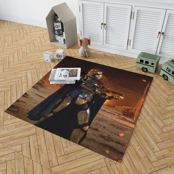 Star Wars Episode VII The Force Awakens Movie Captain Phasma Bedroom Living Room Floor Carpet Rug 2