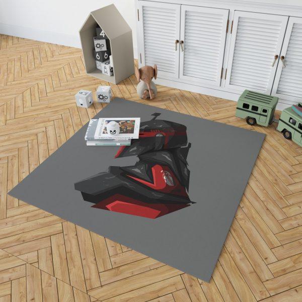 Star Wars Movie Boba Fett Jeremy Bulloch Bedroom Living Room Floor Carpet Rug 2