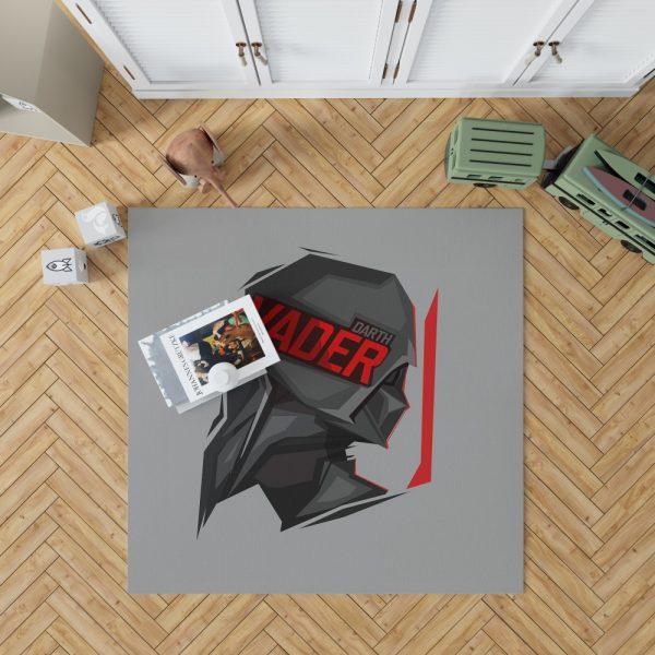 Star Wars Movie Darth Vader Bedroom Living Room Floor Carpet Rug 1