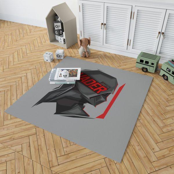 Star Wars Movie Darth Vader Bedroom Living Room Floor Carpet Rug 2