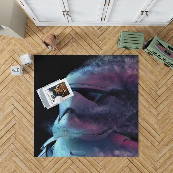 Star Wars Movie Stormtrooper Bedroom Living Room Floor Carpet Rug 1