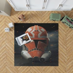 Star Wars The Clone Wars TV Show Clone Trooper Bedroom Living Room Floor Carpet Rug 1