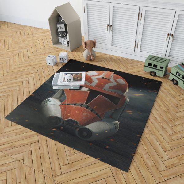 Star Wars The Clone Wars TV Show Clone Trooper Bedroom Living Room Floor Carpet Rug 2