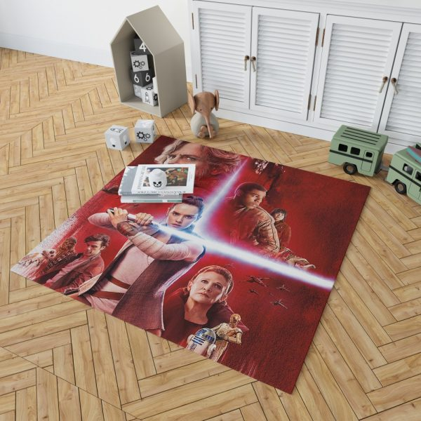 Star Wars The Last Jedi Bedroom Living Room Floor Carpet Rug 2