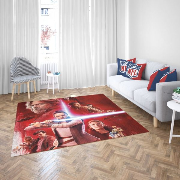 Star Wars The Last Jedi Bedroom Living Room Floor Carpet Rug 3