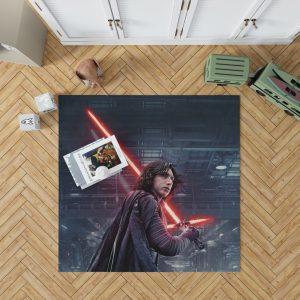 Star Wars The Last Jedi Movie Adam Driver Kylo Ren Bedroom Living Room Floor Carpet Rug 1