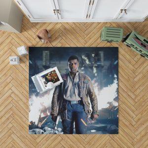 Star Wars The Last Jedi Movie Finn John Boyega Bedroom Living Room Floor Carpet Rug 1