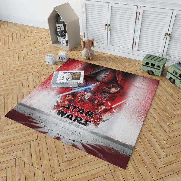 Star Wars The Last Jedi Movie Themed Bedroom Living Room Floor Carpet Rug 2