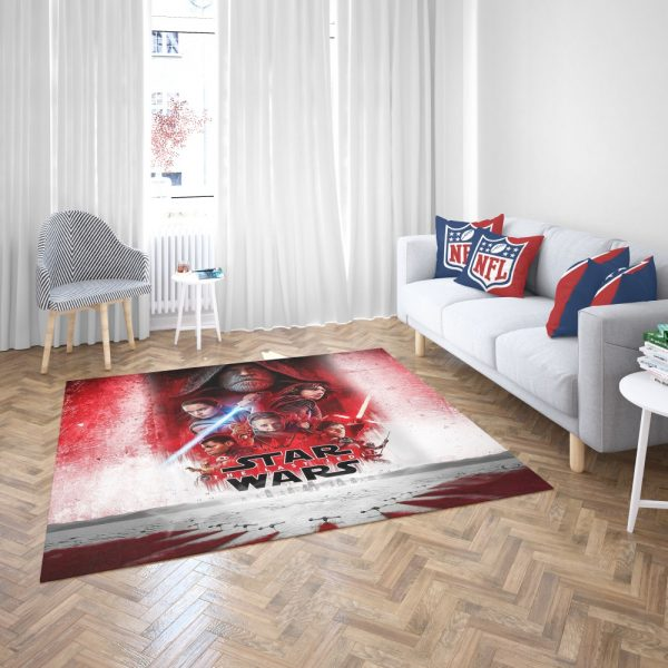 Star Wars The Last Jedi Movie Themed Bedroom Living Room Floor Carpet Rug 3
