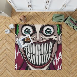 Suicide Squad Movie DC Comics Joker Bedroom Living Room Floor Carpet Rug 1