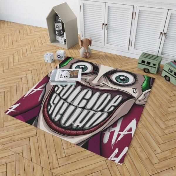 Suicide Squad Movie DC Comics Joker Bedroom Living Room Floor Carpet Rug 2