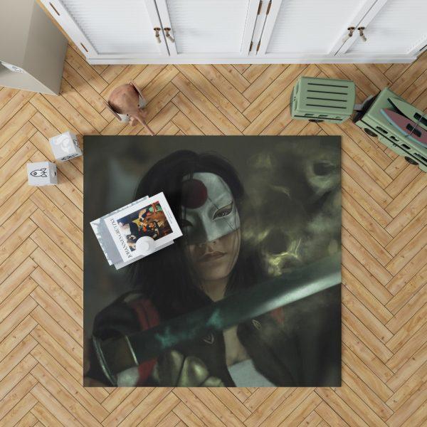 Suicide Squad Movie DC Comics Karen Fukuhara Katana Bedroom Living Room Floor Carpet Rug 1