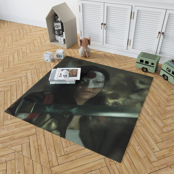 Suicide Squad Movie DC Comics Karen Fukuhara Katana Bedroom Living Room Floor Carpet Rug 2